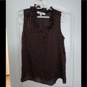 Nine West Sleeveless Blouse